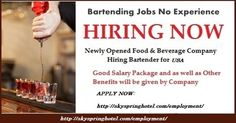 Bartender Job Description Urgently Required Hr & Aadmin Assistant Typist And Pro Required .