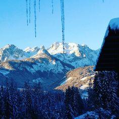 #winterwonderland in #austria #icicles