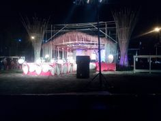 Khasi traditional stage