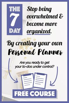 Get organized by creating your first personal planner (bullet journal) with this FREE email course plus six FREE PRINTABLES to get you started. Bullet Journal Layout, Bullet Journal Inspiration, Bullet Journals, Printable Planner, Free Printables, Printable Calendars, Printable Templates, Planner Organization, Organizing Ideas