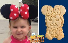 1st Birthday Party - First Birthday - Baby - Custom Cookies - Unique Favors - Mickey Mouse