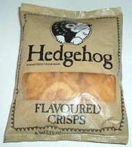 Popular in the 80s,the name was a joke,no Hedgehogs were ever harmed to make these crisps!