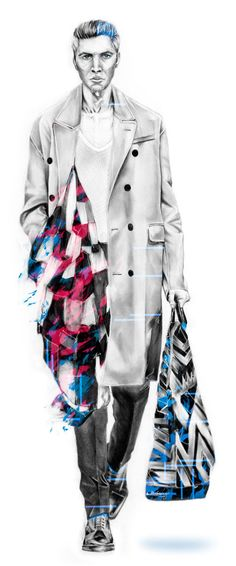 Opus: Burberry Prorsum by Bobby Rogers, via Behance