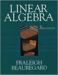 Linear Algebra / Edition 3 by John B. Fraleigh, Raymond A. Beauregard Download