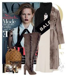 """""""The stars on the sky"""" by eleonoragocevska ❤ liked on Polyvore featuring Dolce&Gabbana, Sally Lapointe, By Terry, Balenciaga, Yves Salomon, Givenchy, Yves Saint Laurent, Aquazzura, Rolex and Chanel"""