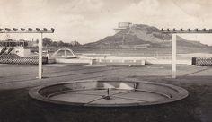 Berlin-Gesundbrunnen, Schwimmbad Humboldthain, 1949