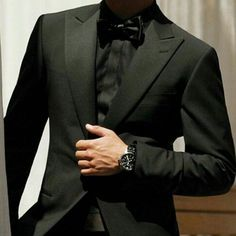 All Black Tuxedo #inspirationlook #fresh #dapper #sharp #gentlemen #stylegram…