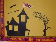 Halloween Bulletin Board - Classroom Decoration - Cricut Forums