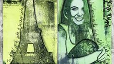 A process video, showing how to transfer magazine images using a Gel Press Plate Collages, Gel Press, Foto Transfer, Gelli Plate Printing, Gelli Arts, Magazine Images, Plate Art, Mail Art, Art Tutorials