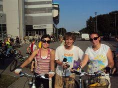 Akcja na rowerze:)