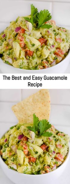 This is always requested at my parties. The BEST Guacamole Recipe. This authentic homemade guacamole tops all guacamole recipes, using everyday ingredients to make a dip everyone will love! Roasted Garlic Bread Recipe, Homemade Garlic Bread, Taco Pie Recipes, Sauce Recipes, Vegetarian Recipes, Guacamole Recipe Easy, Homemade Guacamole, Recipe Using Salsa, Sweet N Sour Sauce Recipe