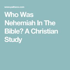 Rebuilding church people blueprint google search its time to who was nehemiah in the bible a christian study malvernweather Choice Image