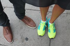 Smart vs Casual, who wins? #shoes #trainers #London #streetstyle