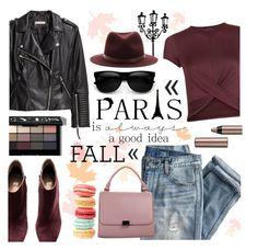 """I Love Paris in the Fall :)"" by julijana-k ❤ liked on Polyvore featuring J.Crew, Retrò, WALL, H&M, New Look, rag & bone, BeYu, Bobbi Brown Cosmetics, StreetStyle and paris"