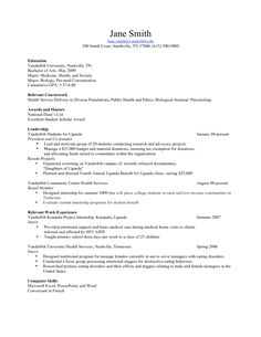Teenage Resume Templates B Tech Fresher  Resume Templates  Pinterest  Tech And Template
