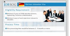 Are you a skilled workers and planning to work in Germany? Well, Germany Job-Seeker Visa is the perfect option for people like you. This Visa permits you to search for a job for a period of six months. Once you get a job in Germany, you can apply for employment based residence permit.