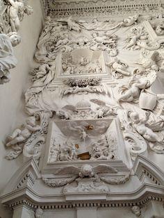 Amo Palermo: L'Oratorio del Rosario di Santa Cita. Capolavoro di Giacomo Serpotta. Alcune Immagini.