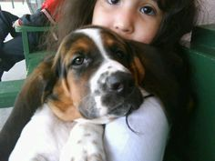 Our baby the day we got her.... Sweet...