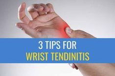 3 Tips for treating Wrist Tendinitis caused by computer work The tips in this article is specifically for people who struggle with tendinitis in their wrists due to overuse injuries from computer work.