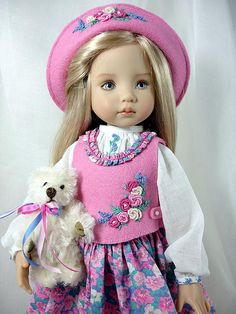 Last Day Luncheon - for Effner Little Darlings by Dress*Ups by pj, via Flickr