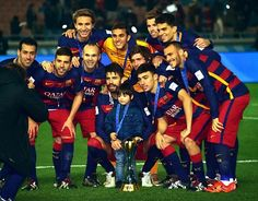 Milan Piqué with Fans? Happy Barca Players, after winnig the Club World Cup 2015 Milan Pique, Club World Cup, Fc Barcelona, Shakira, Fifa, Champion, People, Happy, Instagram
