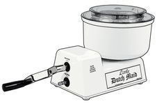 A Commercial Grade  Hand Crank Mixer and Food Processor for large batch cooking. Uses no electricity-Sustainable Living