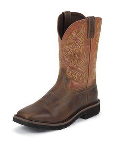 Men's Rugged Tan Boot