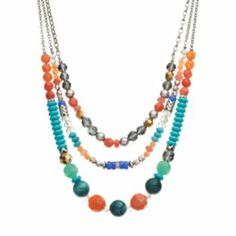 Apt. 9 Bead Multistrand Necklace