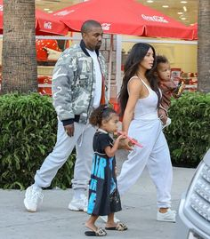 Kanye West Leaves Daughters Birthday Party Wearing Vintage Raf Simons 2001 Jacket and Adidas Running Sneakers   UpscaleHype
