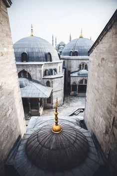 View of Hagia Sophia to Sultanahmet Camii, Istanbul