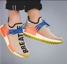9592670358a13 Pharrell x adidas NMD Human Race Trail Ac7361 Colorway  Pale Nude Core  Black
