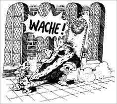 "Gerhard Seyfried - ""Wache!"""