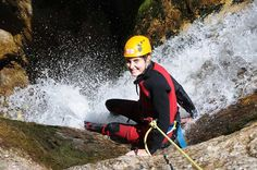 "Canyoning in Niederösterreich in der ""Aqua Splash"" Tour. Aqua, Abseiling, Tours, Swimming, Water"