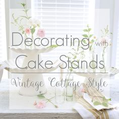 decorating with cake