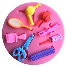 Hairdresser Accessories Silicone Mold