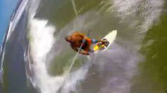Jason wave riding with his #Switchkites