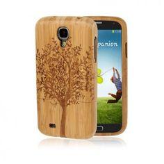 Bamboo (Träd) Samsung Galaxy S4 Skal av Äkta Bambu