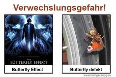 Verwechslungsgefahr: Butterfly Effect