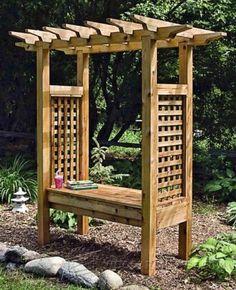 Arbor Swing Plans   Outdoor Furniture Plans U0026 Projects | WoodArchivist.com