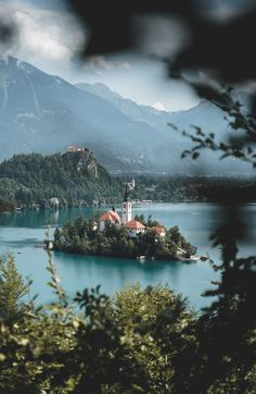 slovenia lake bled Bled Slovenia, Slovenia Travel, Visit Slovenia, Europe Travel Tips, Places To Travel, Travel Destinations, Lake Photography, Travel Photography, Travel Pictures