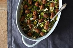 Roasted Sausage with Broccoli and Fennel, a recipe on Food52