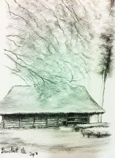 EE pencil on paper.Size: x