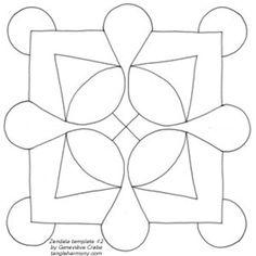 Zendala template #2