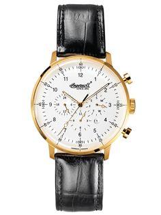 Ingersoll IN2816GWH Houston Automatik Herren-Armbanduhr