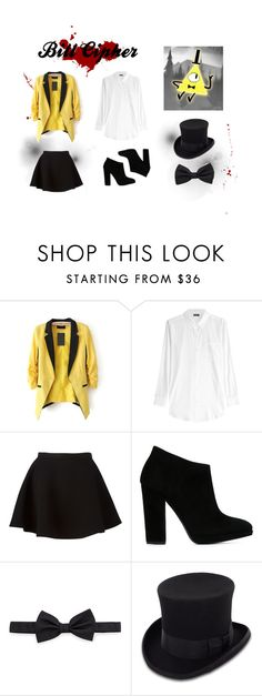 """Bill Cipher"" by parzival2600 ❤ liked on Polyvore featuring DKNY, Neil Barrett, Giuseppe Zanotti, Lanvin, JOHN BULL, women's clothing, women's fashion, women, female and woman"
