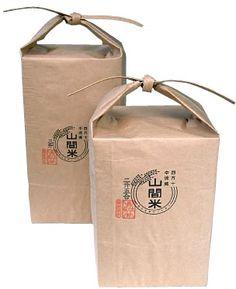 山間米「枡袋」Rice packaging PD
