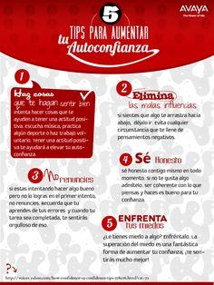 5 Tips para aumentar la autoconfianza #frases http://www.gorditosenlucha.com/