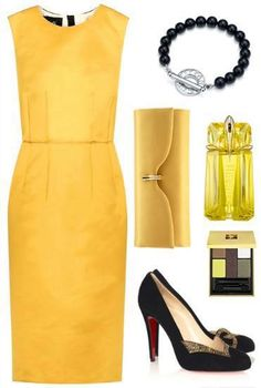 Fashion: Women's apparel yellow!