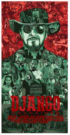Django Unchained - movie poster - Matthew Brazier