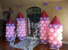 Princesita Sof 237 A Castillo De Globos Decoraci 243 N Para